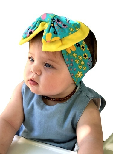 Baby Giz Bandana Turkuaz